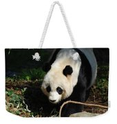Absolutely Beautiful Giant Panda Bear With A Sweet Face Weekender Tote Bag