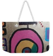 Abstract # 11 Weekender Tote Bag