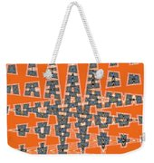 Abstract # 2060ew4a Weekender Tote Bag