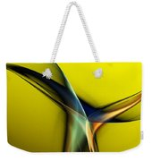 Abstract 060311 Weekender Tote Bag by David Lane