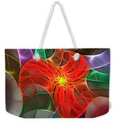 Abstract 061710a Weekender Tote Bag