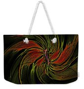 Abstract 070810a Weekender Tote Bag