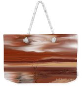 Abstract 080210 Weekender Tote Bag