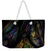 Abstract 10-08-09-1 Weekender Tote Bag