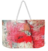 Abstract 107 Digital Oil Painting On Canvas Full Of Texture And Brig Weekender Tote Bag