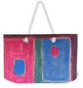 Abstract 109 Weekender Tote Bag
