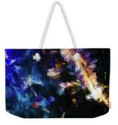 Abstract 134 Digital Oil Painting On Canvas Full Of Texture And Brig Weekender Tote Bag