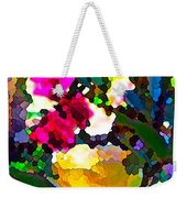 Abstract 140 Weekender Tote Bag