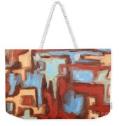 Abstract 147 Weekender Tote Bag by Patrick J Murphy
