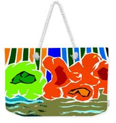 Abstract 229 Weekender Tote Bag