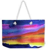 Joan's Sunset Weekender Tote Bag