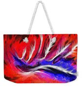 Abstract #45 Weekender Tote Bag