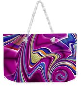 Abstract #49 Weekender Tote Bag