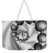 Abstract 537 Bw Weekender Tote Bag