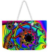 Abstract 65 Weekender Tote Bag