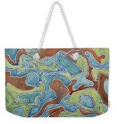 Abstract 972 Weekender Tote Bag