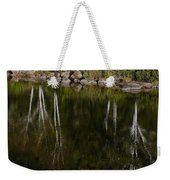 Abstract Along The River Weekender Tote Bag