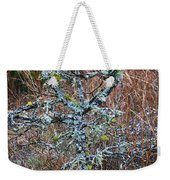 Abstract And Lichen Weekender Tote Bag