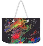 Abstract Andromeda Weekender Tote Bag