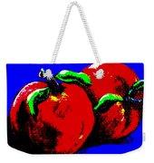 Abstract Apples Weekender Tote Bag