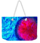 Abstract Art Combination - The Pink Martian Crater, Ca 2017, Byy Adam Asar Weekender Tote Bag