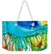 Abstract Art - Journey To Color - Sharon Cummings Weekender Tote Bag