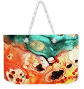 Abstract Art - Just Say When - Sharon Cummings Weekender Tote Bag