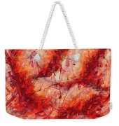 Abstract Art Nineteen Weekender Tote Bag