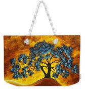 Abstract Art Original Landscape Painting Dreaming In Color By Madartmadart Weekender Tote Bag by Megan Duncanson