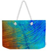 Abstract Art  Painting Freefall By Ann Powell Weekender Tote Bag