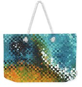 Abstract Art - Pieces 9 - Sharon Cummings Weekender Tote Bag