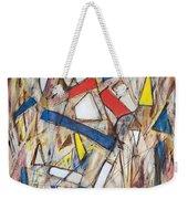 Abstract Art Seven Weekender Tote Bag