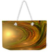 Abstract Art -the Core By Rgiada Weekender Tote Bag