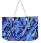 Abstract Art Twenty-four Weekender Tote Bag
