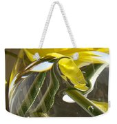 Abstract Artwork Daffodils Flowers 1 Natural Abstract Art Prints Glass Vase Water Art Light Air Weekender Tote Bag