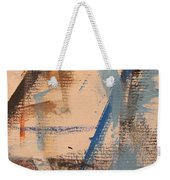 Abstract At Sea 3 Weekender Tote Bag