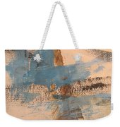 Abstract At Sea 4 Weekender Tote Bag