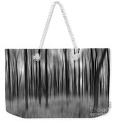 Abstract Autumn Bw Weekender Tote Bag