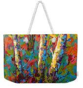 Abstract Autumn II Weekender Tote Bag