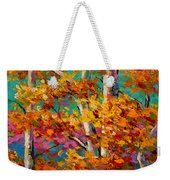 Abstract Autumn IIi Weekender Tote Bag