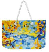 Abstract Autumn Landscape Weekender Tote Bag