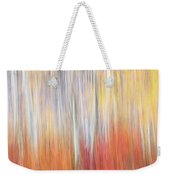 Abstract Autumn Weekender Tote Bag by Laura Roberts
