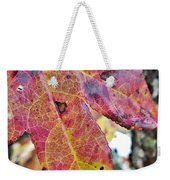 Abstract Autumn Leaf 2 Weekender Tote Bag