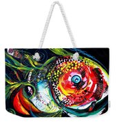 Abstract Baboon Fish Weekender Tote Bag