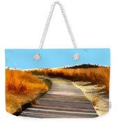 Abstract Beach Dune Boardwalk Weekender Tote Bag