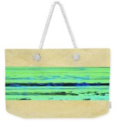 Abstract Beach Landscape  Weekender Tote Bag