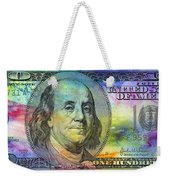 Abstract Ben Weekender Tote Bag