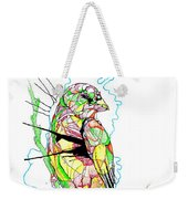 Abstract Bird 01 Weekender Tote Bag