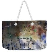 Abstract Birds In A Swirl Of Sky Colors Weekender Tote Bag