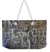 Abstract Bleeding Concrete Weekender Tote Bag